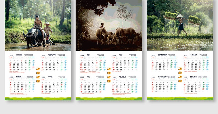 Download Kalender 2020 Format CDR dan AI 3 Lembar Tinggal ...