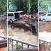 Panoorin! Video ng Isang Van na Pinagtulungang Maisalba ng mga Kalalakihan sa Gumuguh0ng Kalsada; Viral sa Social Media!