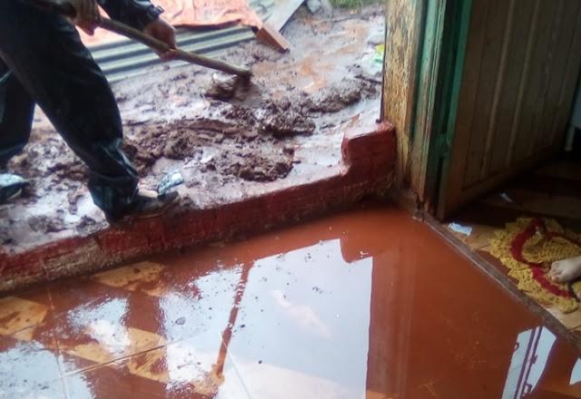 Roncador: Chuva causa transtorno. E tem quem defende essa situação!
