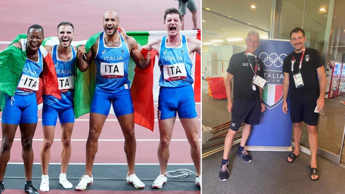 Oro Staffetta 4x100 Olimpiadi Tokyo 2020 Catania Filippo Di Mulo Luigi Mazzone