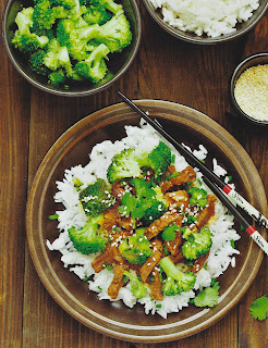 Beef and broccoli recipe for the Instant Pot