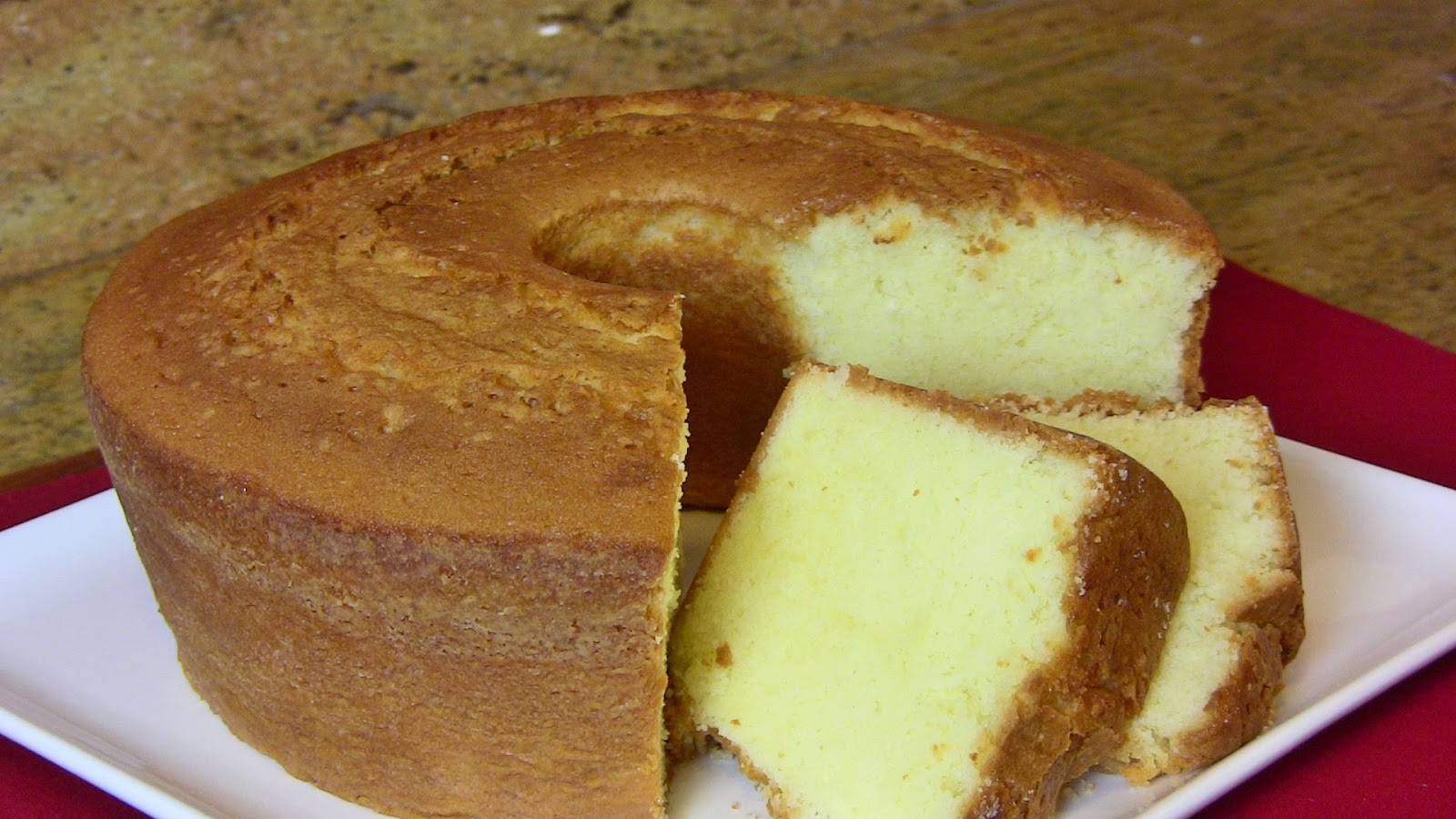 Make Pound Cake From Scratch  Yellow  Chocolate