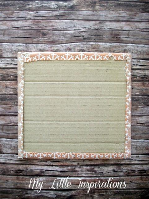 Memo board magnetica imbottita personalizzata - retro pannellino 1 - MLI