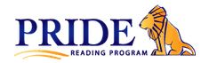 PRIDE Reading Program logo