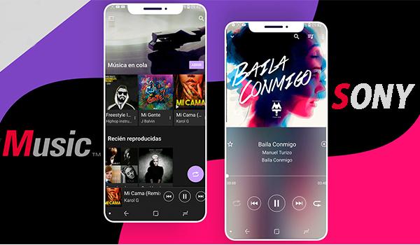 Sony Music Android El Reproductor de Música de Sony Para Cualquier Android