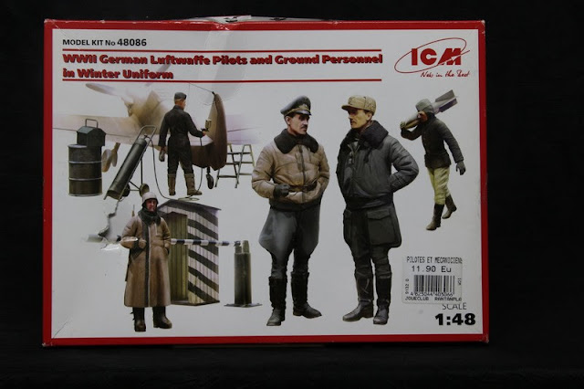 "Figurines ""German Luftwaffe"" Icm 1/48"