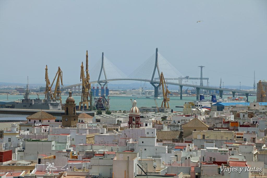 Puente de la Constitución. Qué ver en Cádiz