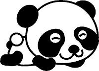 דפי צביעה דובי פנדה
