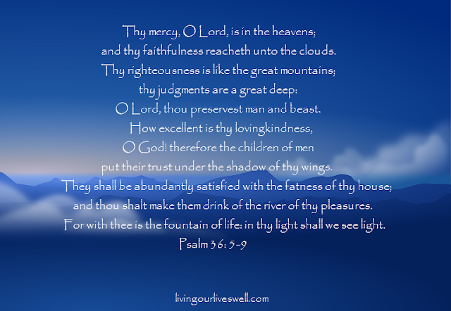 Meditating on God's Promises From Psalm 36:5-9