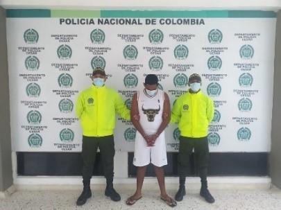 hoyennoticia.com, Capturado alias 'Remolacho' de la banda 'Los Cayos' de Valledupar