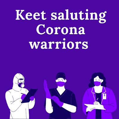 Salute Corona Warriors