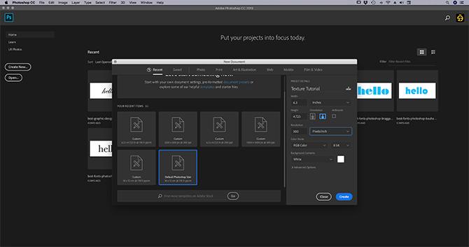 buat-dasar-tekstur-photoshop-cc-01-layar terbuka