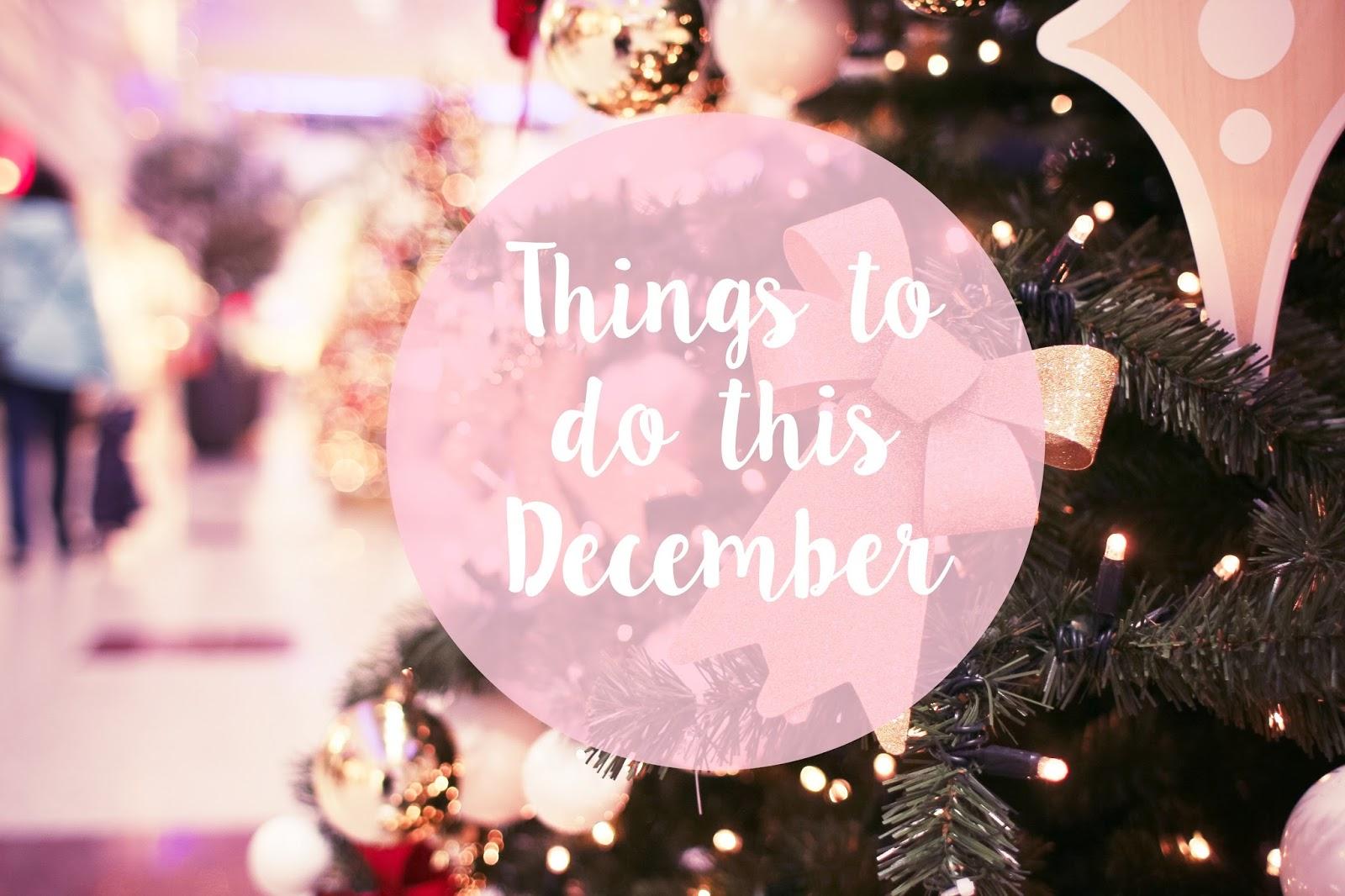 christmas, lifestyle, things to do at christmas, things to do in december, festive, christmas tree,