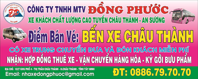 Xe Đồng Phước Bến Tre Tây Ninh
