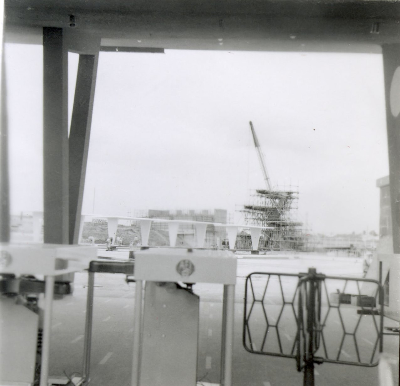 Fibreglass swimming pool construction port macquarie freeform style - Ruth Everuss Aquatic Centre Under Construction In 1958 Source Cumberland Council Library Service