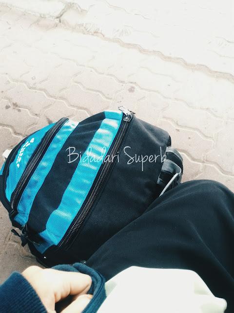 backpack muslimah