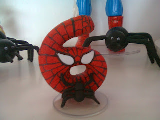vela de biscuit homem aranha