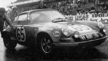 Porsche 911S Hart Ski Racing Team Claude Haldi (CH) / Arthur Blank (CH)