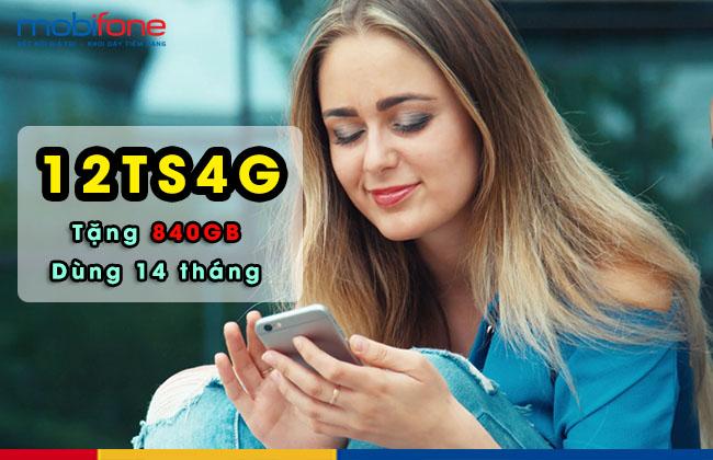 Gói cước lên mạng 12TS4G