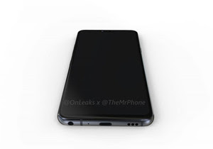 LG G7 renders (notch included) and dimensions leak out