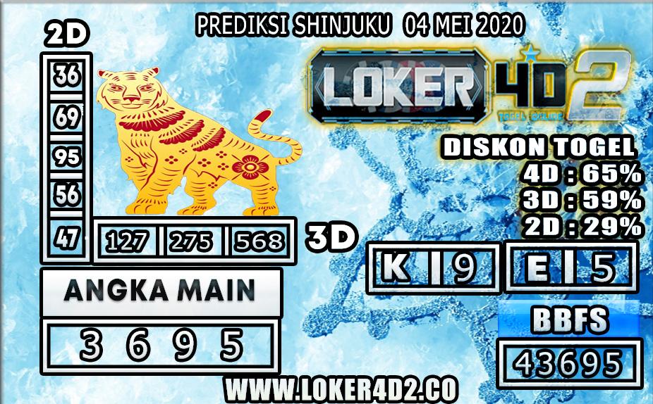 PREDIKSI TOGEL SHINJUKU LUCKY 7 LOKER4D2 04 MEI 2020