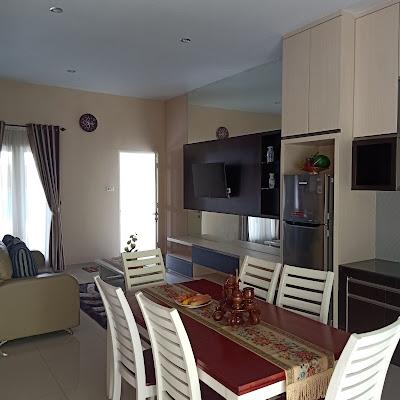 Ruang Makan Villa Citra Mandiri Medan
