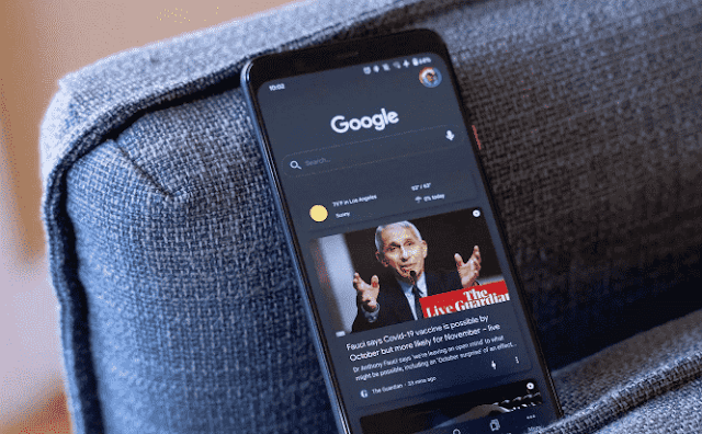 How to switch to Google Discover on the Galaxy S21