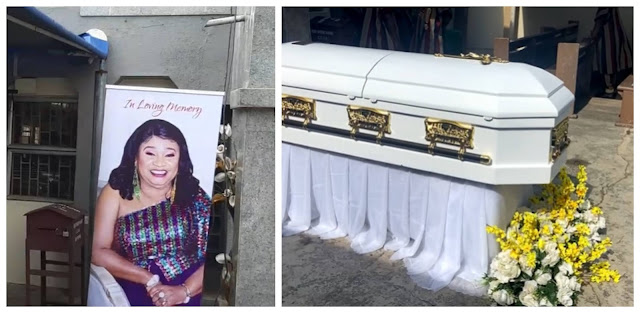 Check more Photos from Late Rachel Oniga Funeral