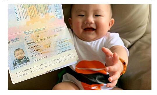 Jumlah Biaya untuk Membuat Paspor Anak Segala Jenis