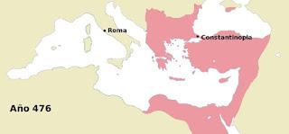 Imperio Bizantino año 476