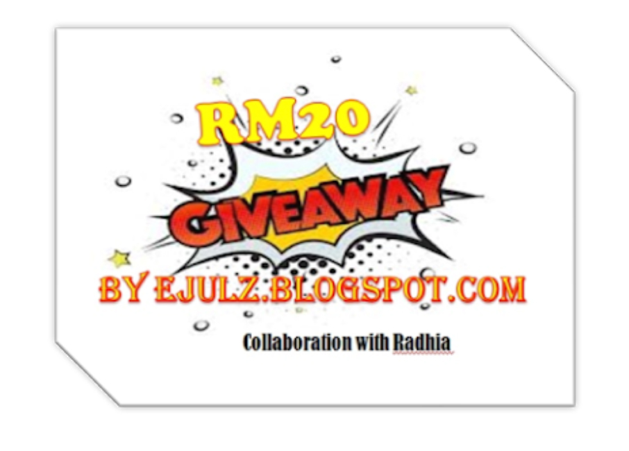 Giveaway By Ejulz & Radhia