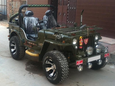 modifikasi jeep willys