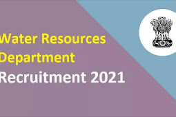 Water Resources Department Recruitment 2021 – 100 AE And JE Posts
