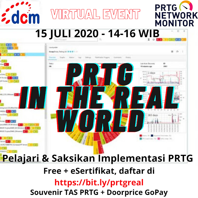 PRTG VIRTUAL EVENTS JULY - AUGUST 2020