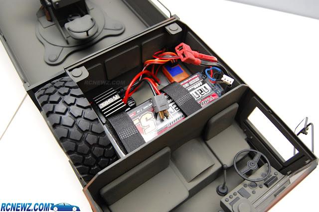 RC4WD Beast 2 6x6 electronics