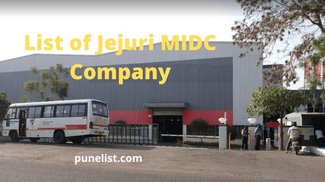 Jejuri MIDC Company