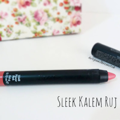 Sleek Kalem Ruj: Power Pink
