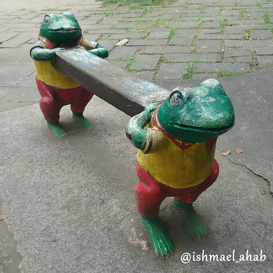 Frog Bench at Rizal Park Children's Playground