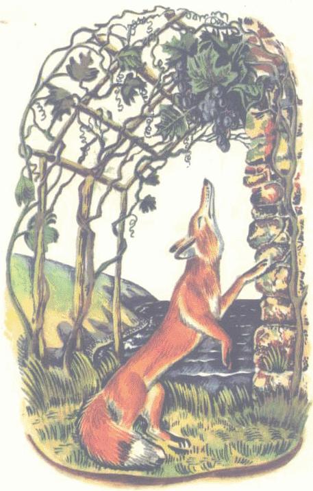 Con cáo và chùm nho