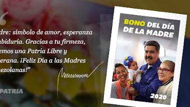 Atención Madres de la Patria!, Inicia la entrega del Bono del Día de la Madre 2020