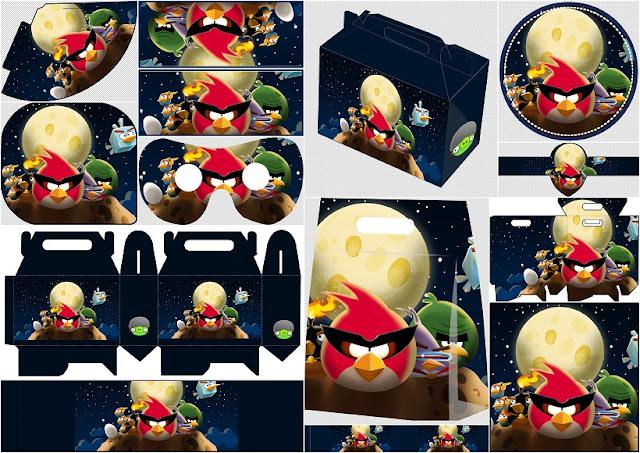Angry Birds en el Espacio: Kit para Fiestas para Imprimir Gratis.