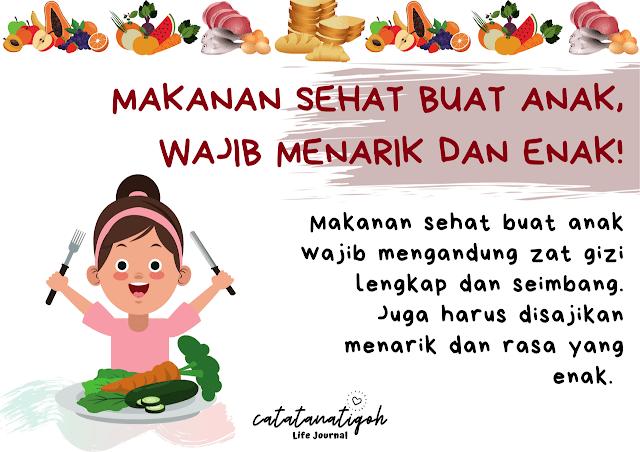 makanan sehat buat anak