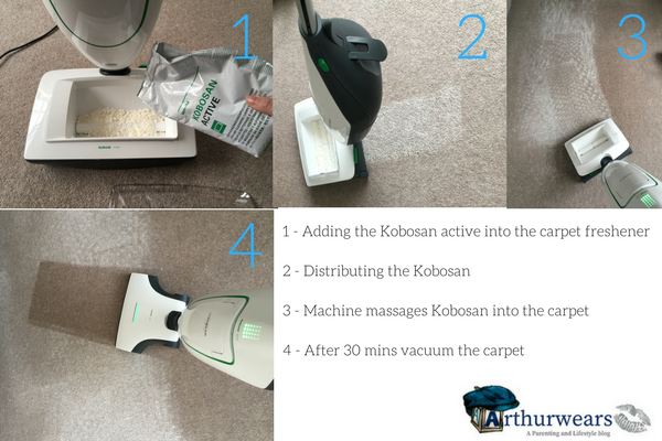 Vorwerk Kobold VK 200 and SP600 2 in 1 vacuum mop review - carpet freshener