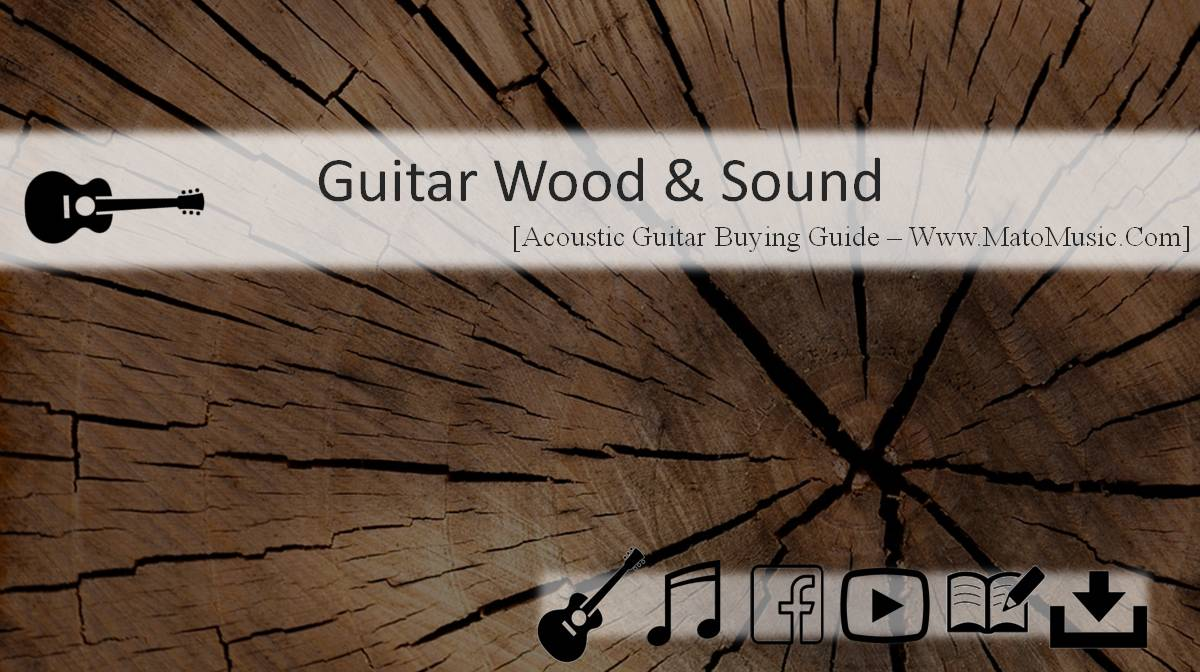 acoustic guitar wood and sound