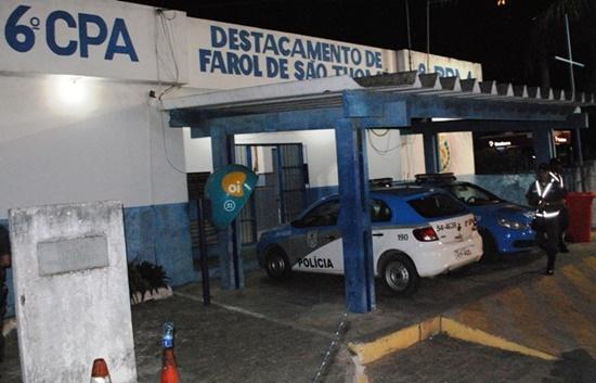 Suspeito de tentar matar policial militar é contido após levar tiro na perna em Farol