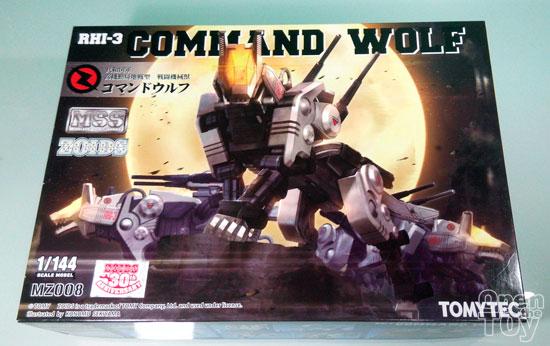 1/144 ZOIDS Command Wolf