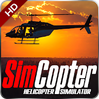 SimCopter Helicopter Simulator HD MOD APK premium unlocked