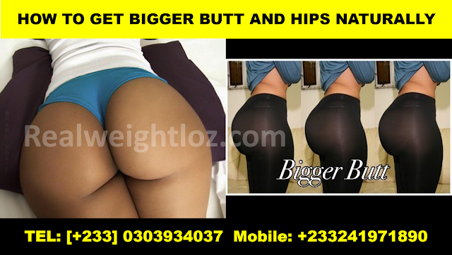 Get Bigger Butt and Hips Naturally
