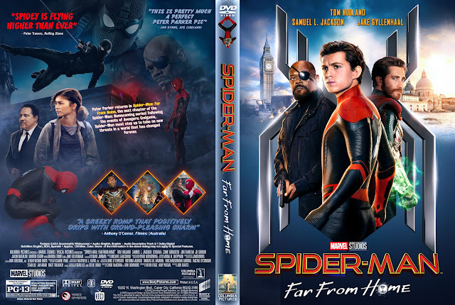 Spider-Man: Far from Home DVD Cover