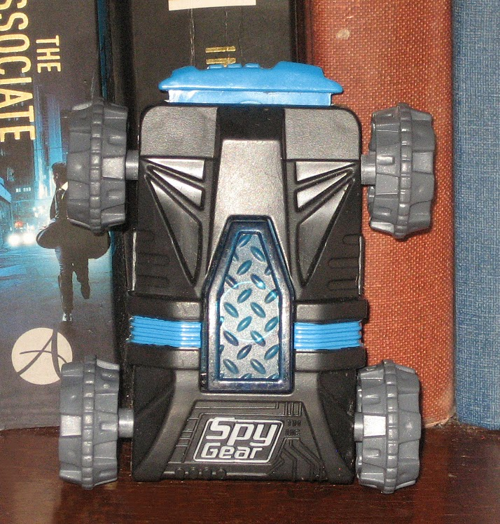 Percy's Fast Food Toy Stories: Spy Gear Car